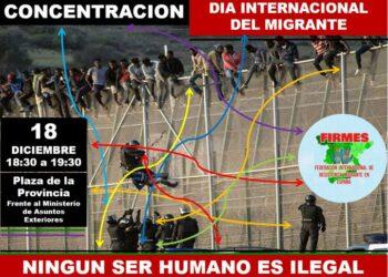 FIRMES: «Demandamos la derogación de las leyes de extranjería contrarias a los derechos humanos»