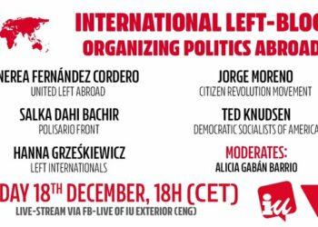 IU Exterior conmemora este Día Internacional del Migrante con un seminario sobre la movilización política desde la emigración