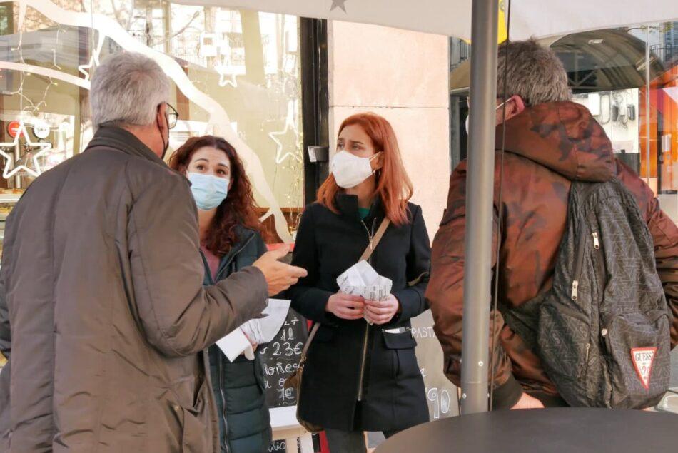 Jéssica Albiach, sobre las medidas del Govern contra la pandemia: «Hay más excepciones que recomendaciones»