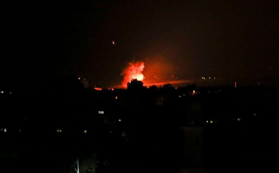 Aviones israelíes bombardean varios puntos de la Franja de Gaza