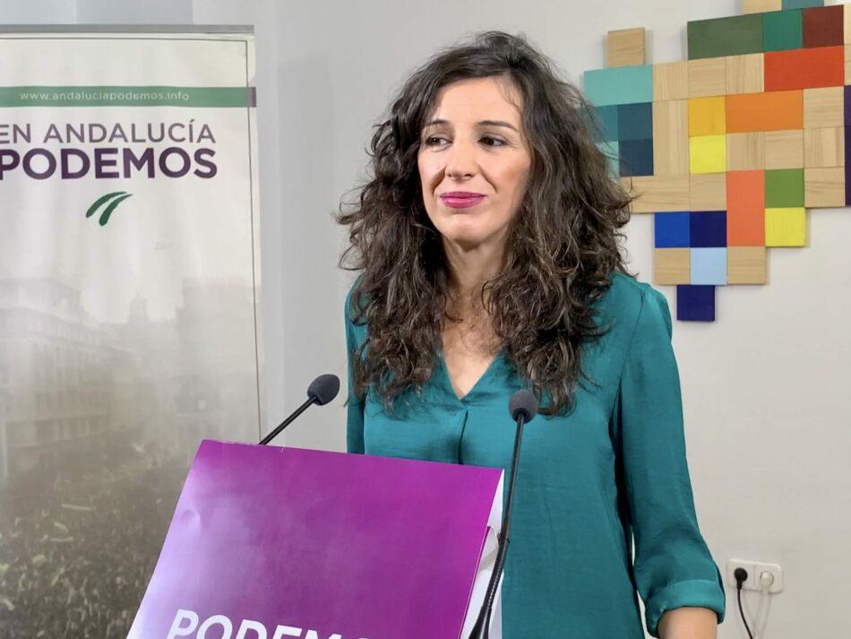 Podemos Andalucía acusa al Gobierno autonómico de falta de previsión y exige más inversión en Educación para garantizar un invierno seguro