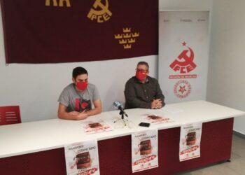 El PCE y la Juventud Comunista inician una campaña en defensa del transporte público en la Región de Murcia