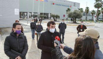 Podemos Comunidad de Madrid se reúne con los sindicatos del Hospital Infanta Sofía para pedir la apertura inmediata de las 16 camas UCI de la Torre 4