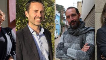 Rosa Lluch, Jordi Jordan i Jaume Moya encapçalaran la candidatura de Catalunya en Comú a Girona, Tarragona i Lleida