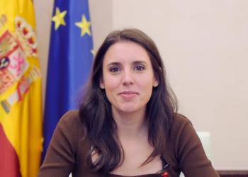 """Irene Montero: """"Convertir vuestras necesidades en derechos es una deuda histórica del feminismo y una obligación que como Estado  debemos cumplir"""""""