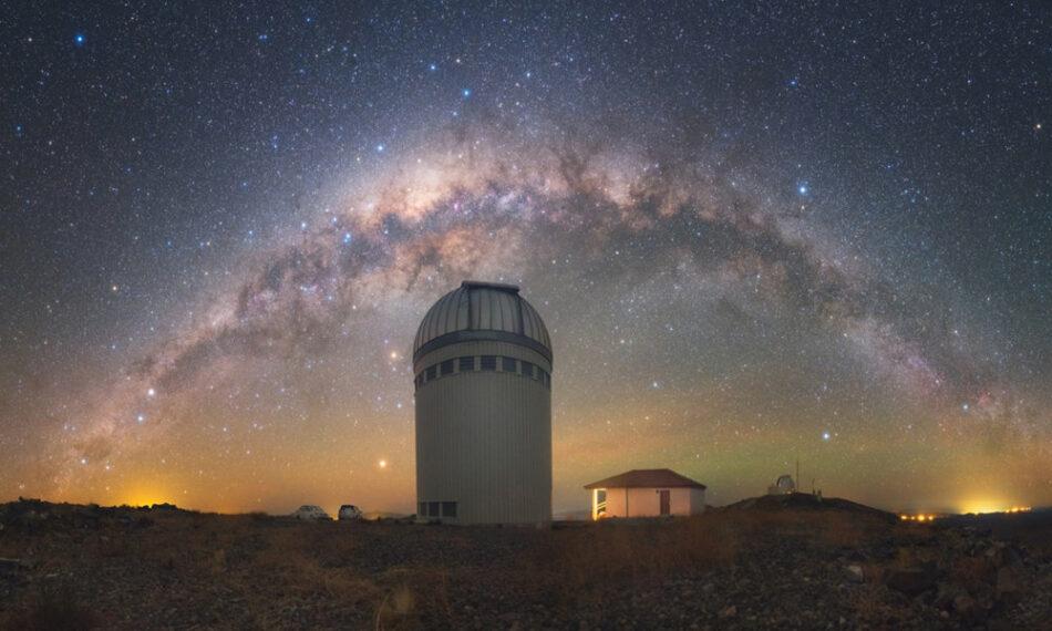 Un estudio revela que la Tierra se encuentra más cerca del centro de la galaxia de lo que se creía