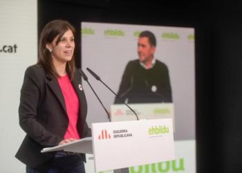 Vilalta, sobre l'acord amb Bildu: «Som 18 diputats al servei de la independència dels nostres pobles»