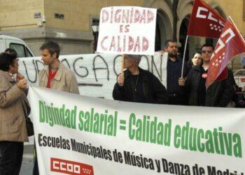 """CCOO exige al Ayuntamiento de Madrid medidas urgentes ante la situación de la escuela municipal de música """"Almudena Cano"""""""