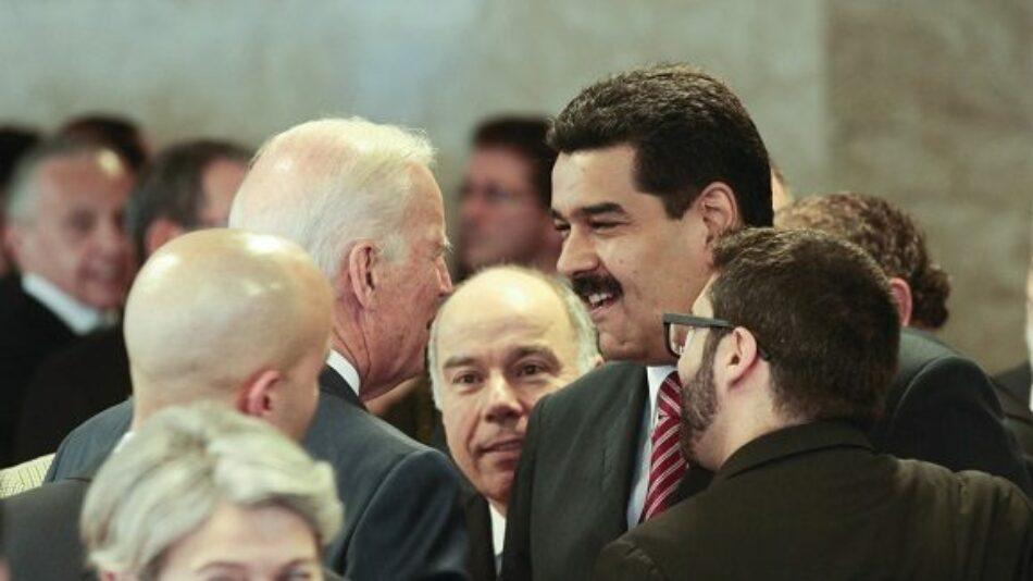 Biden planea negociar con Maduro, según medio estadounidense