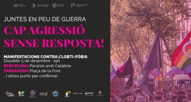 Manifestació contra l'LGBTI-FÒBIA: 5-D