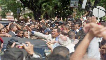 14 años de la primera reelección de Hugo Chávez junto al pueblo