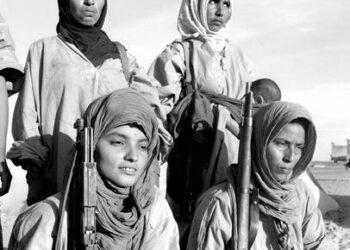 Sahara occidental: Un mapa trazado con napalm y fósforo blanco