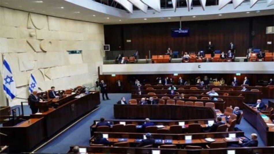 Convocan elecciones anticipadas en Israel para marzo del 2021