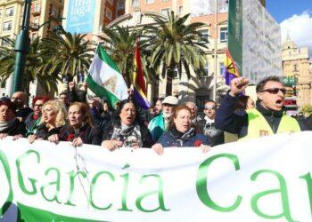 La familia García Caparrós, recibida hoy en Madrid por el Gobierno de coalición