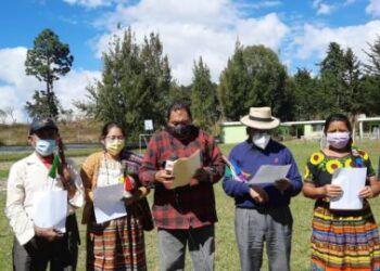 Autoridades ancestrales de Guatemala proponen una Asamblea Nacional Constituyente