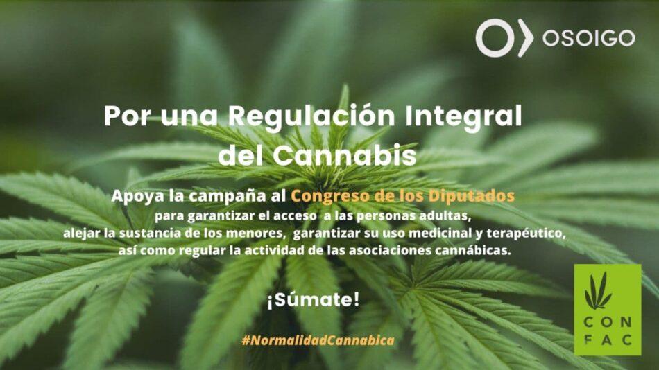 La campaña de #NormalidadCannábica pide al Congreso de los Diputados la regulación del cannabis