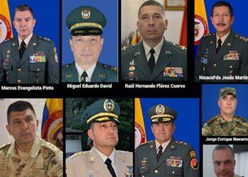 Relacionan a 22 generales de Colombia con falsos positivos