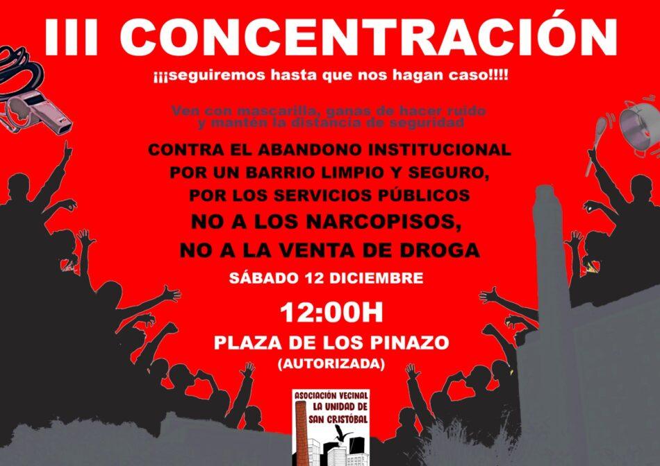 El vecindario de San Cristóbal de los Ángeles (Madrid) vuelve a protestar contra la droga y los narcopisos