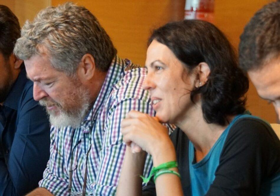 Representantes del ecologismo político y social hacen un llamamiento a organizarse para impulsar las políticas verdes