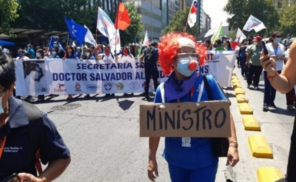 Trabajadores de la Salud chilenos realizan paro nacional