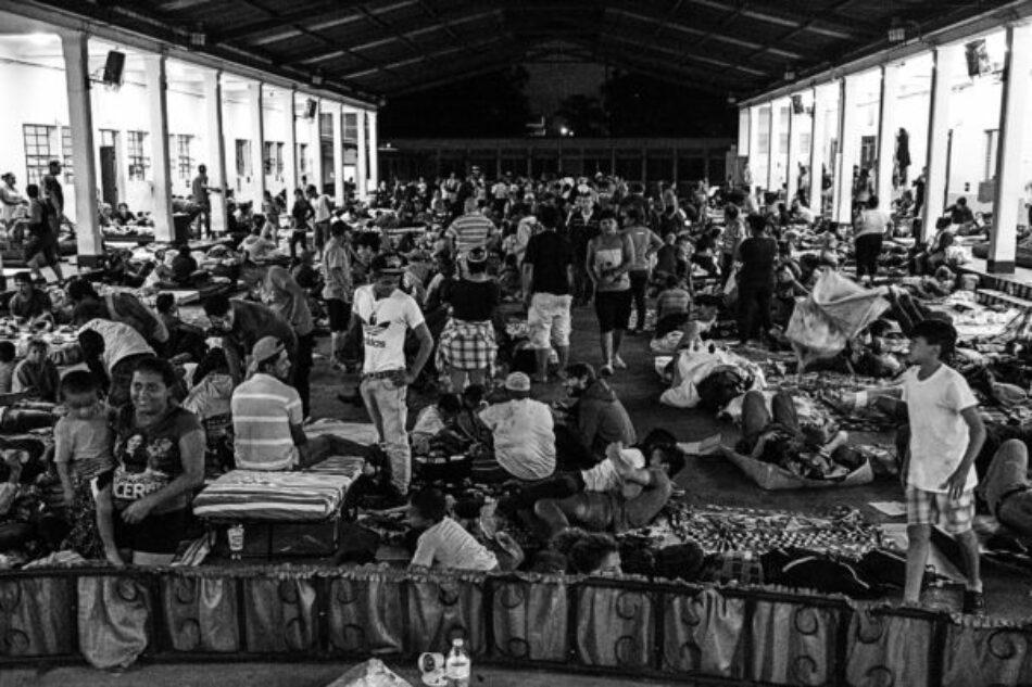 Ante la caravana de migrantes, la xenofobia es una acción institucional y social