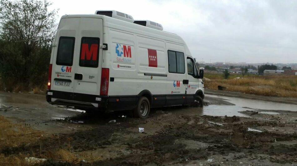 Profesionales sanitarias advierten de las gravísimas consecuencias de la situación en la Cañada Real