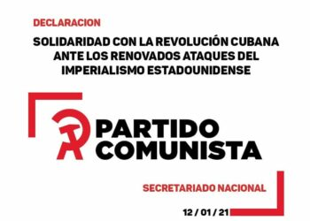 Solidaridad con la Revolución Cubana ante los renovados ataques del imperialismo estadounidense