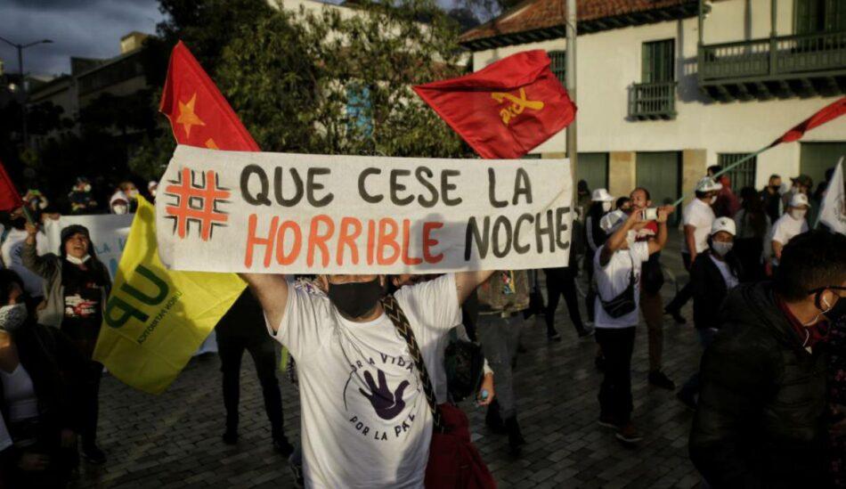 La violencia no cesa en Colombia en 2021