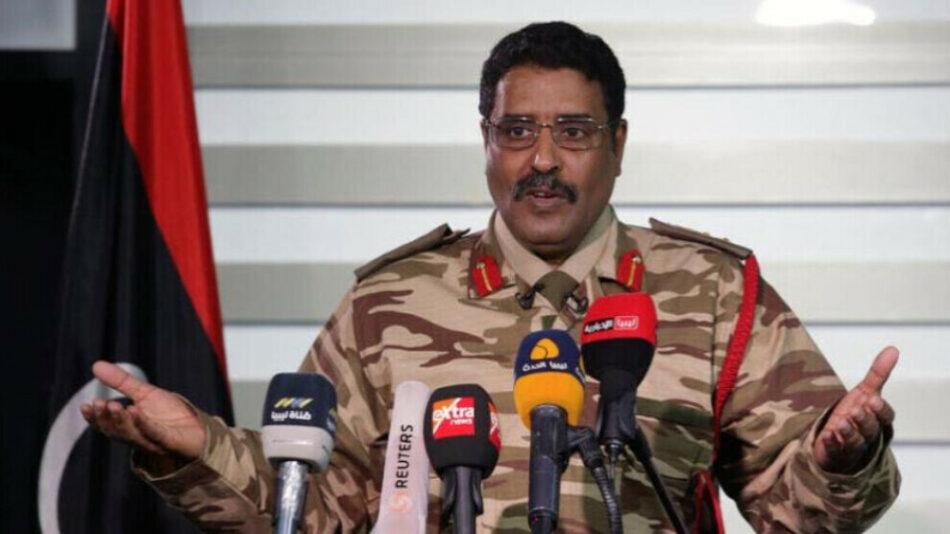 LNA: «Turquía no se retirará de Libia mediante negociaciones o mediación»