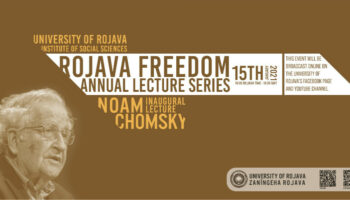 Chomsky: «La Revolución Rojava es un milagro que el mundo tiene que ver»