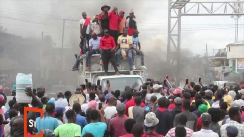 Miles de manifestantes protestan para exigir la dimisión de Jovenel Moise en Haití