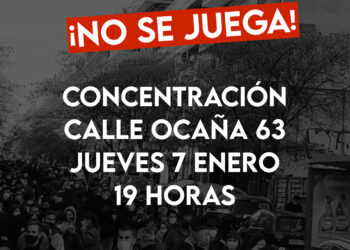 La vecindad se concentra por quinta vez contra la apertura de un local de apuestas en la calle Ocaña 63, Madrid