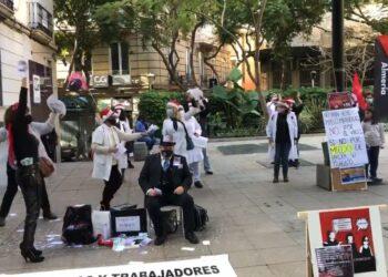 CGT denuncia sanciones y despidos de la empresa CLECE ante la huelga del Servicio de Ayuda a Domicilio en Almería