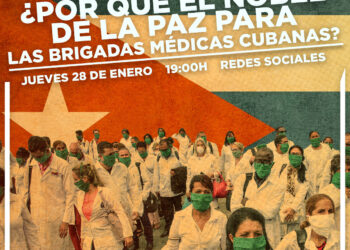 Una Mesa Redonda On Line entre La Habana y València expone la labor de las Brigadas Médicas Cubanas contra el COVID-19 en el mundo