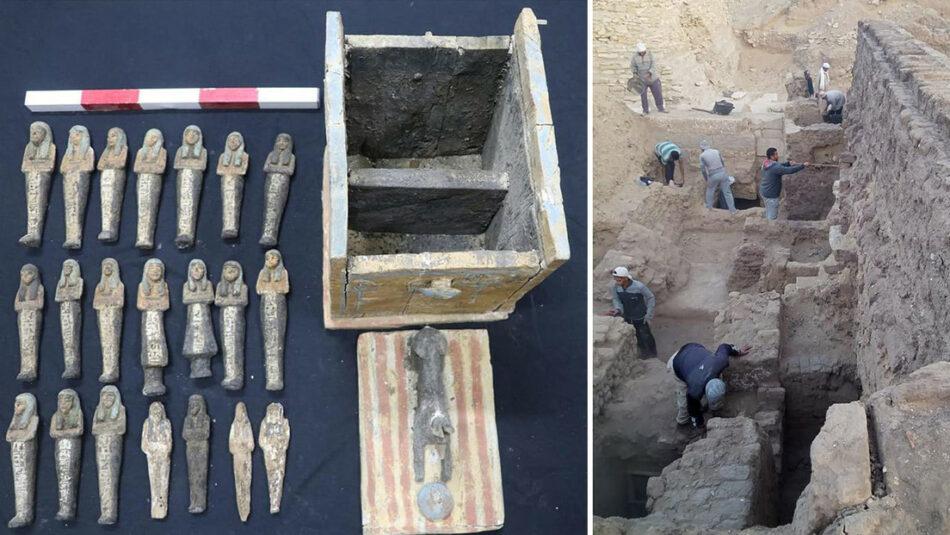Egipto anuncia «grandes descubrimientos» en la necrópolis de Saqqara que «reescribirán la historia de esta región»