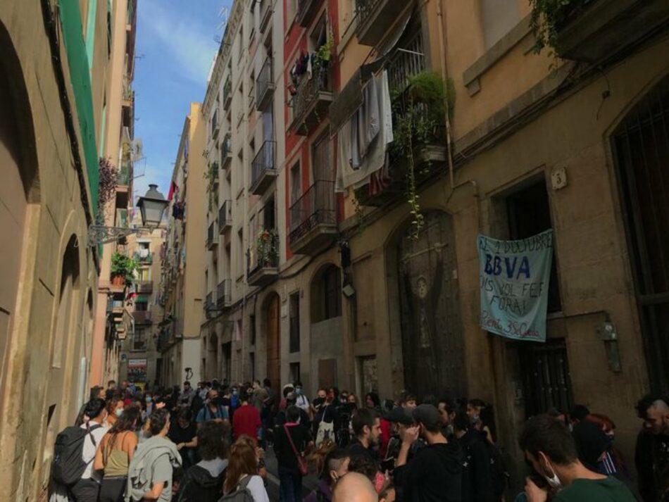 Ante el desahucio del exnarcopiso de Riereta 3 (Barcelona) por BBVA, CERBERUS y DIAVRIAN