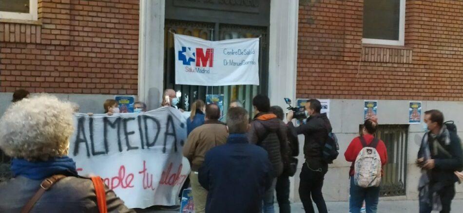 Concentración en la Junta de Centro para que Almeida cumpla su palabra y permita la apertura de un centro de salud en Gobernador 39