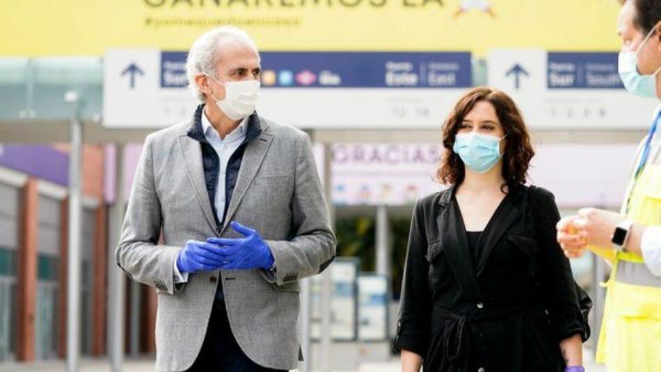 Denuncian el desvío de dinero público a Cruz Roja en la Comunidad de Madrid: «Gastan 800.000 euros en algo que la sanidad pública hace a menor costo»