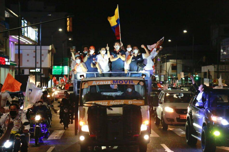 El economista y exministro de Correa, Andrés Arauz, encabeza las encuestas para las elecciones presidenciales en Ecuador del 7 de febrero