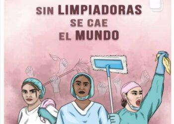 CGTPV: «El contagio de COVID-19 de las limpiadoras sanitarias no es considerado como accidente laboral»