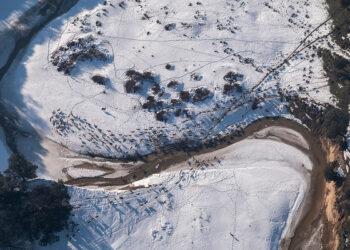 Greenpeace documenta la España rural desde el aire: imágenes aéreas de cómo Filomena ha afectado al campo