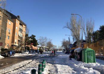 Unidas por Las Rozas demanda al gobierno de De la Uz una Comisión especial para tratar la gestión municipal del temporal de nieve