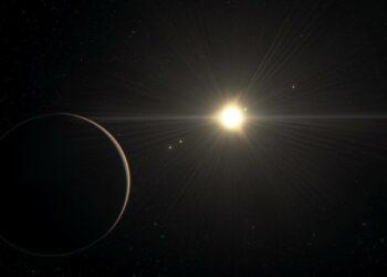 La extraña danza y densidad de un sistema de exoplanetas desconcierta a los astrónomos
