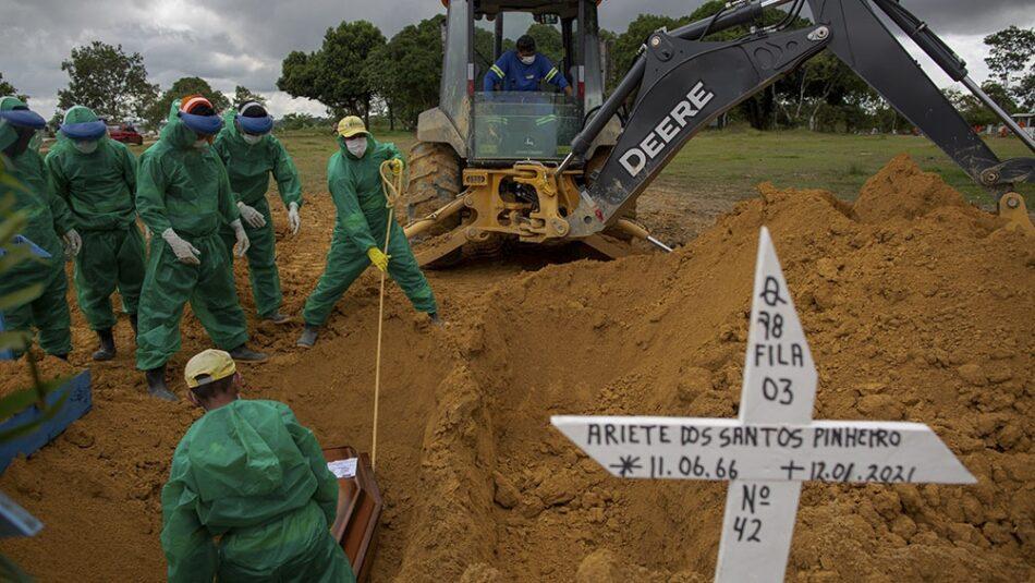 La autoridades de Manaos establecen un toque de queda de 24 horas ante el colapso sanitario