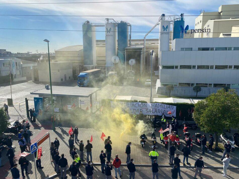 Adelante Andalucía denuncia las condiciones laborales y el incumplimiento de las medidas de seguridad en la empresa Sevillana de Persán
