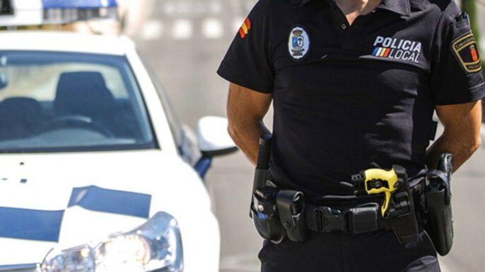 Unidas Podemos registra una iniciativa para limitar el uso de tasers por parte de la policía