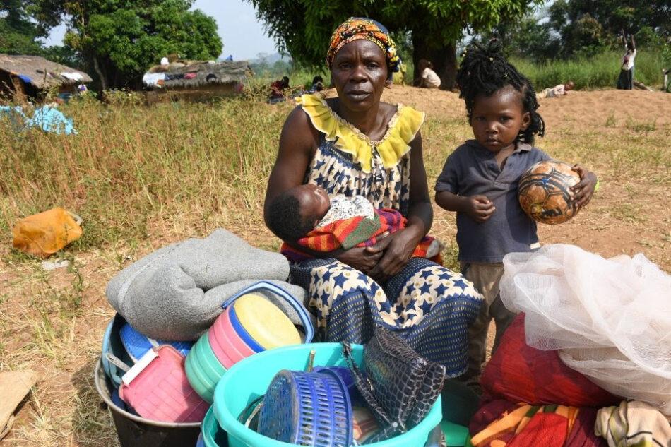 El número de refugiados centroafricanos se dispara a medida que se intensifica la violencia