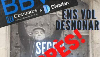 Suspendido el desahucio previsto para el 20 de enero en Calle Riereta 3: #Riereta3SeQueda