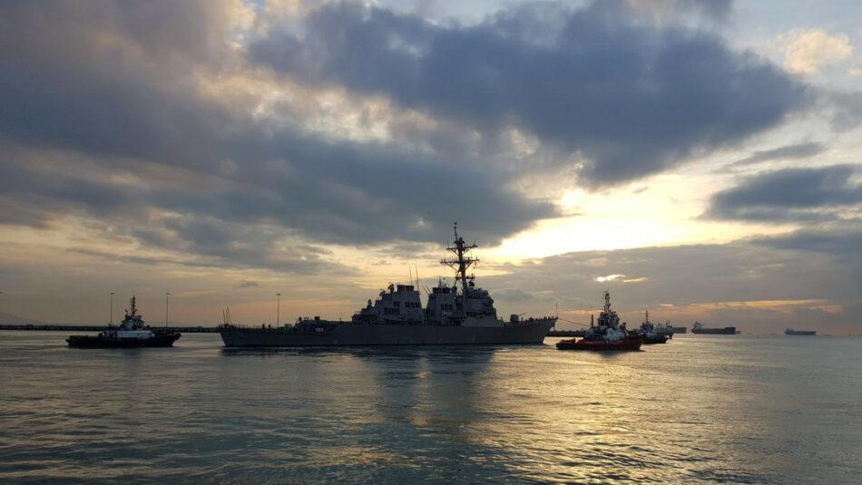 Aumento de la tensión entre Estados Unidos y China tras el paso de dos destructores estadounidenses por el estrecho de Taiwán