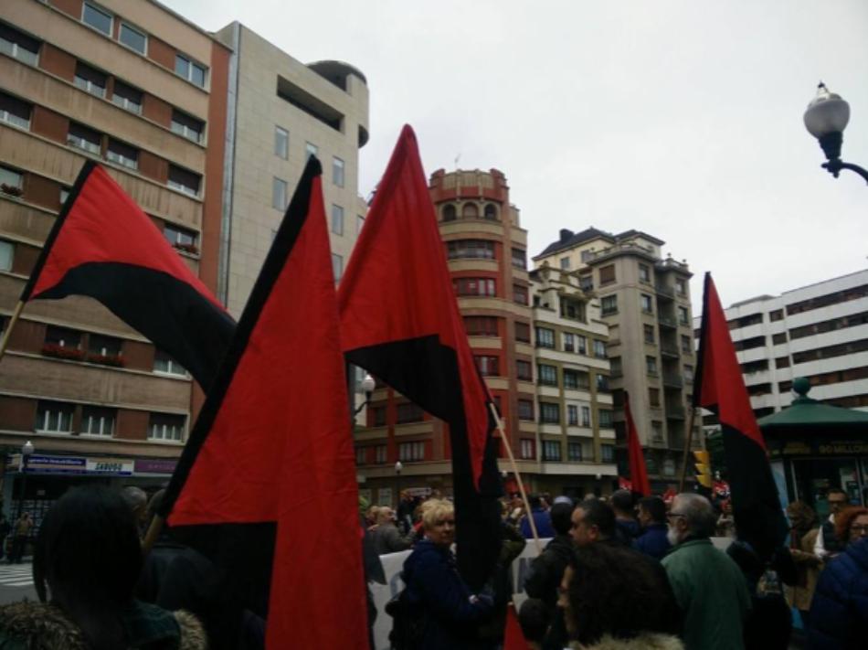 Penas de cárcel por hacer sindicalismo en Gijón